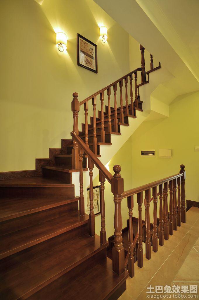 别是实木楼梯装修效果图