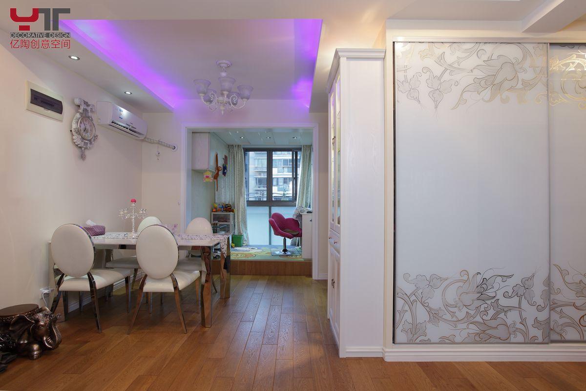 欧式风格餐厅木地板效果图