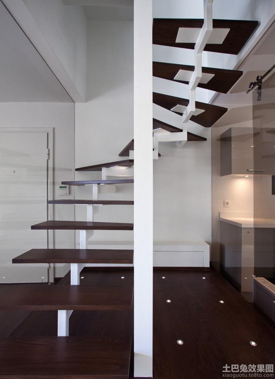 别墅旋转楼梯设计图片