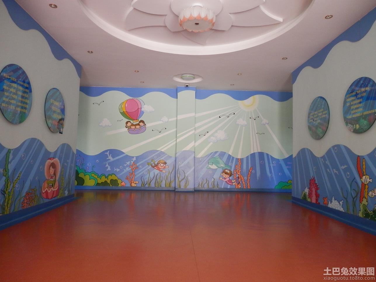 最新幼儿园墙面布置图片