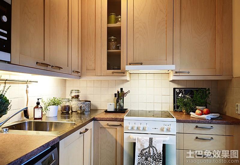 厨房实木橱柜图片2013 - 装修效果图 - 九正家居网图片