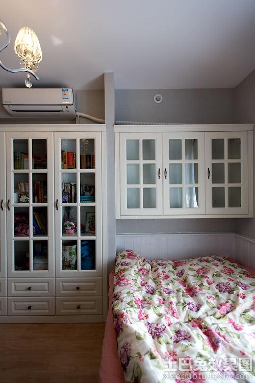 卧室简欧壁柜装修效果图