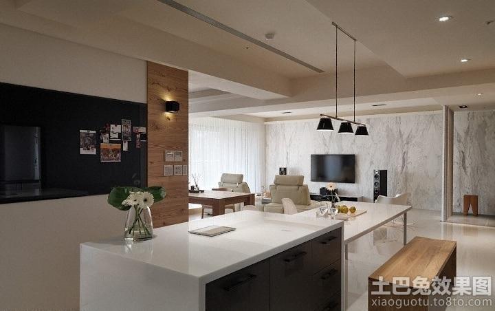 新房厨房岛台图片