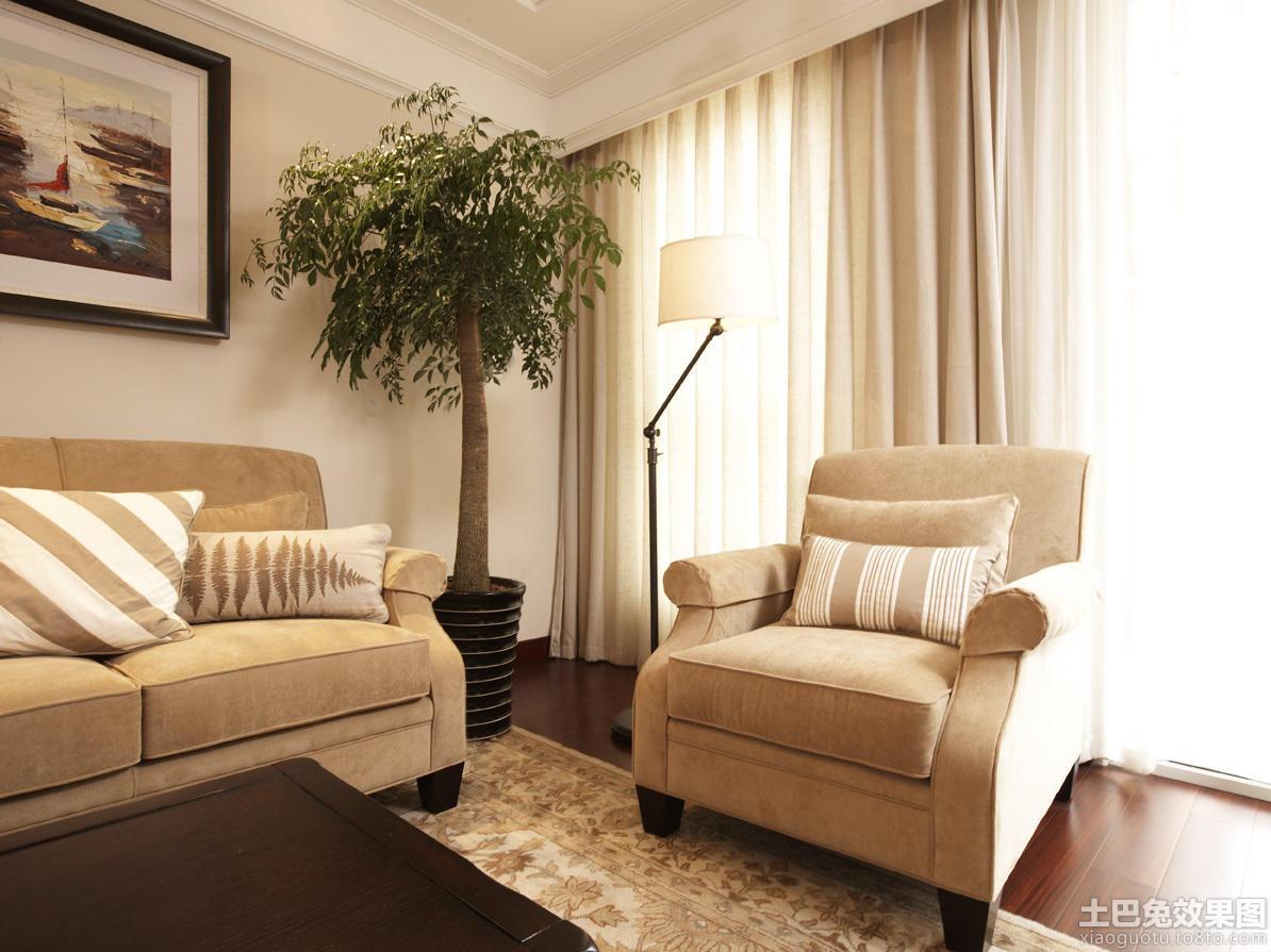 简美式单人沙发图片图片