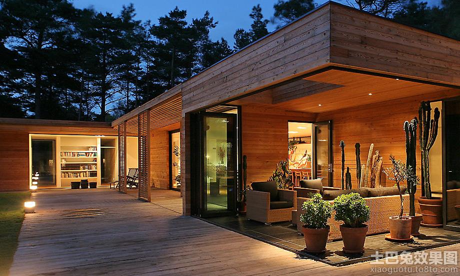 木结构别墅设计效果图
