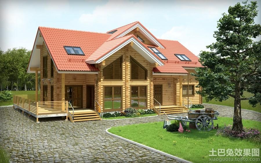农村木结构房屋设计图片