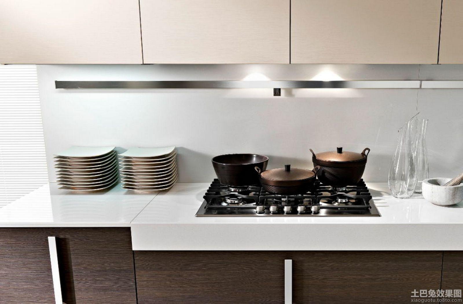 简约厨房灶台装修效果图大全高清图片