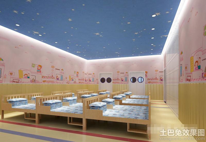 幼儿园休息室墙面布置图片