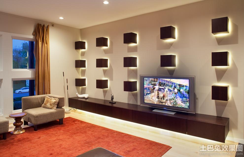 电视墙造型设计效果图
