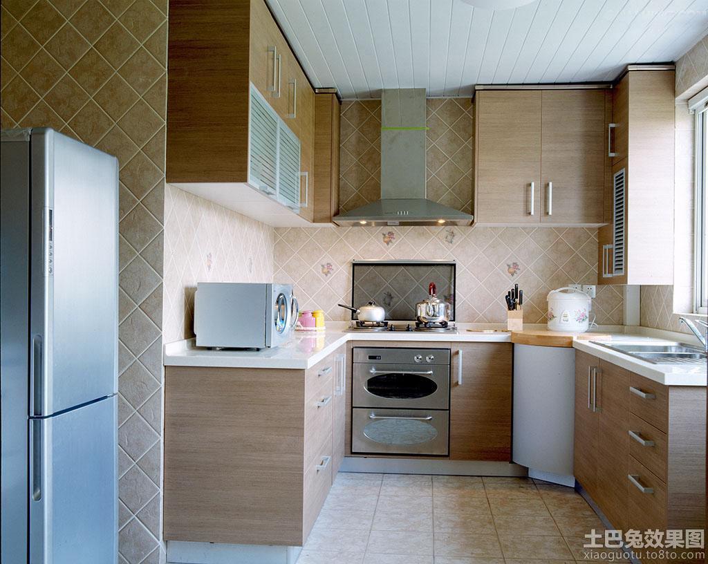 欧式风格整体厨房设计效果图 - 装修效果图 - 九正