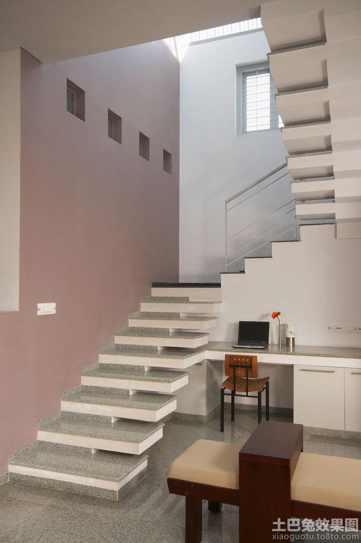 简约室内楼梯设计效果图 - 装修效果图 - 九正家居网