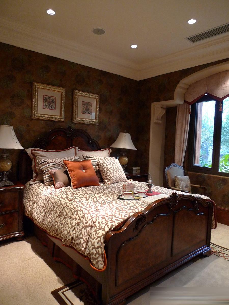 美式装修卧室效果图大全图片