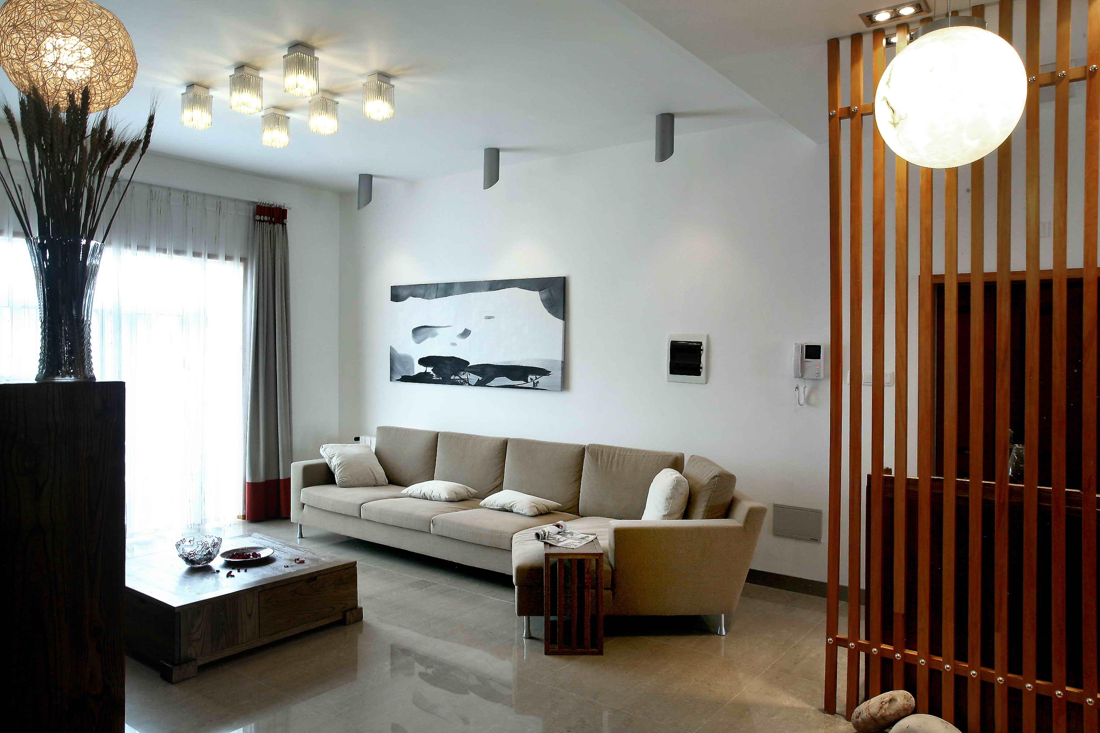 简单小户型客厅装修效果图