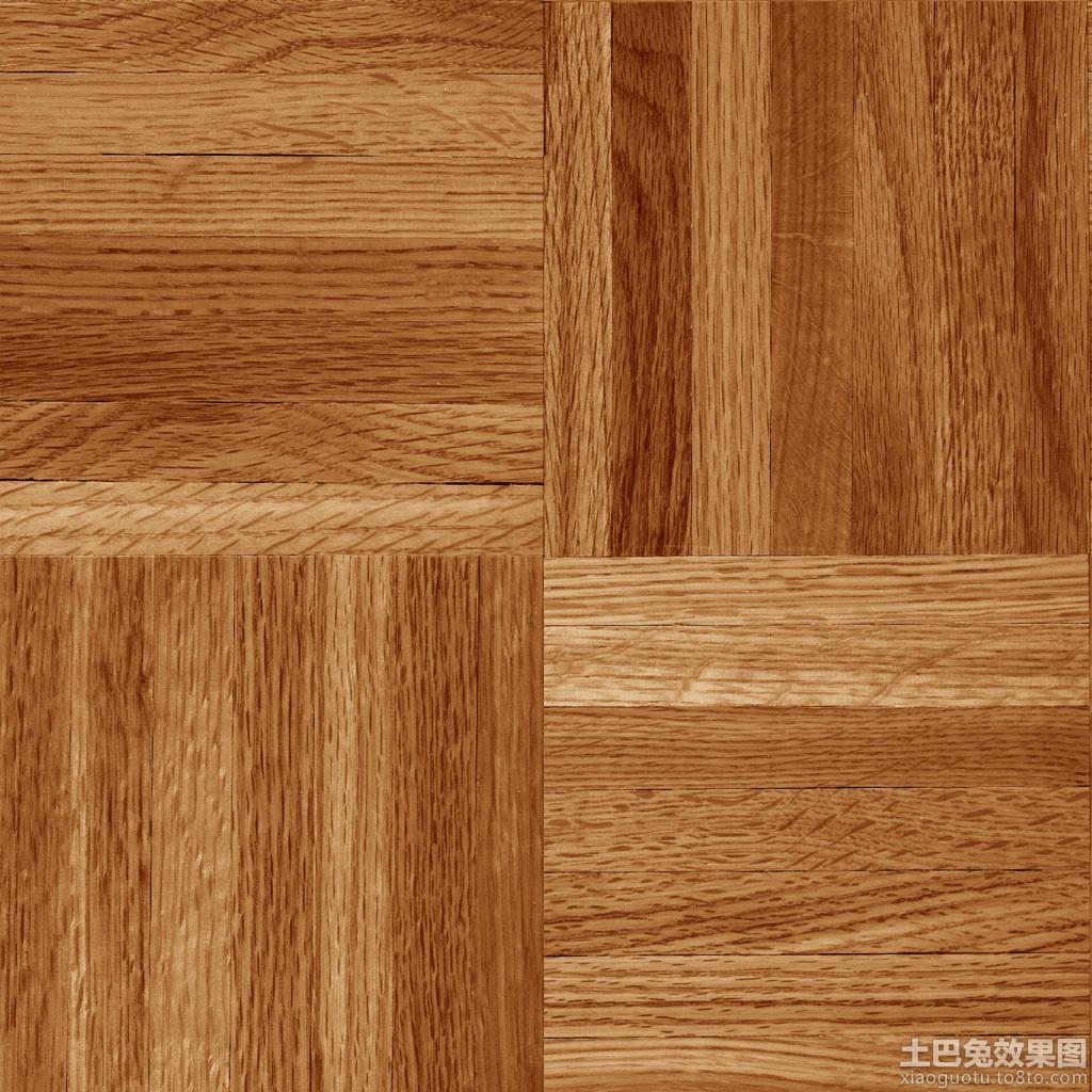 木纹地板砖贴图 - 装修效果图