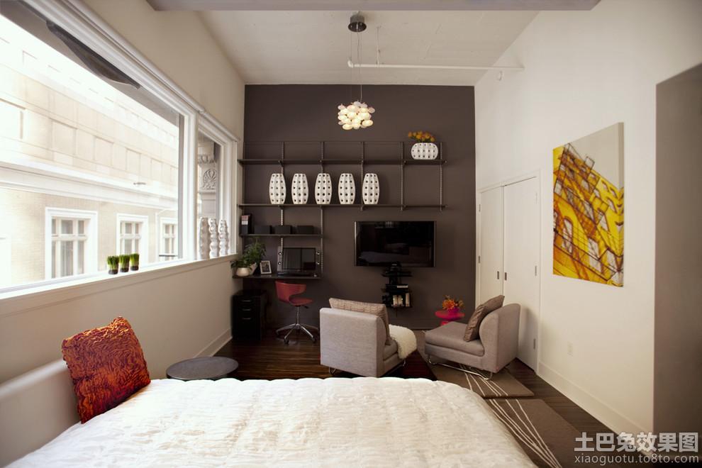 25平米单身公寓装修 设计图展示