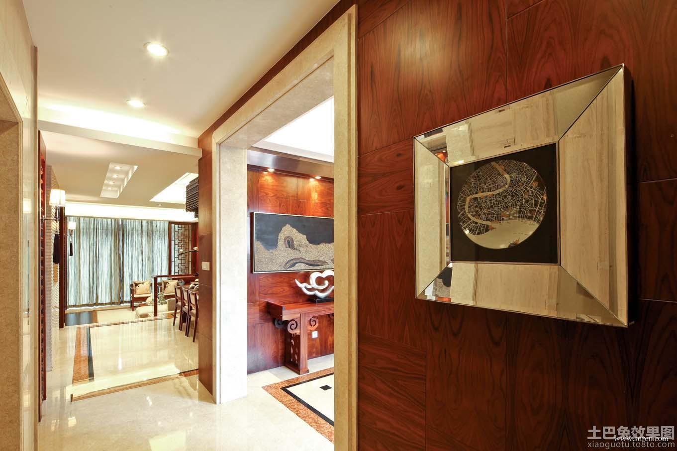 中式客厅垭口装修效果图高清图片