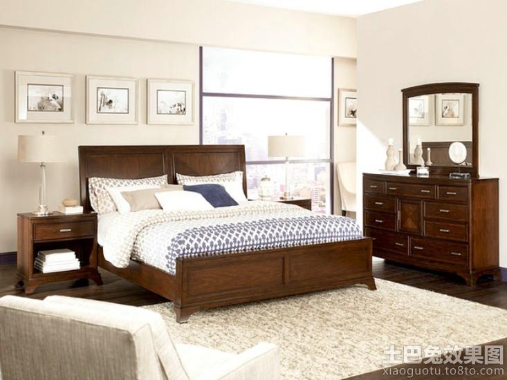美式风格卧室家具图片