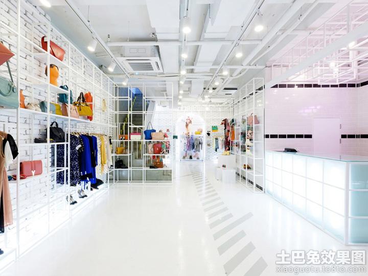 创意服装店装修图片