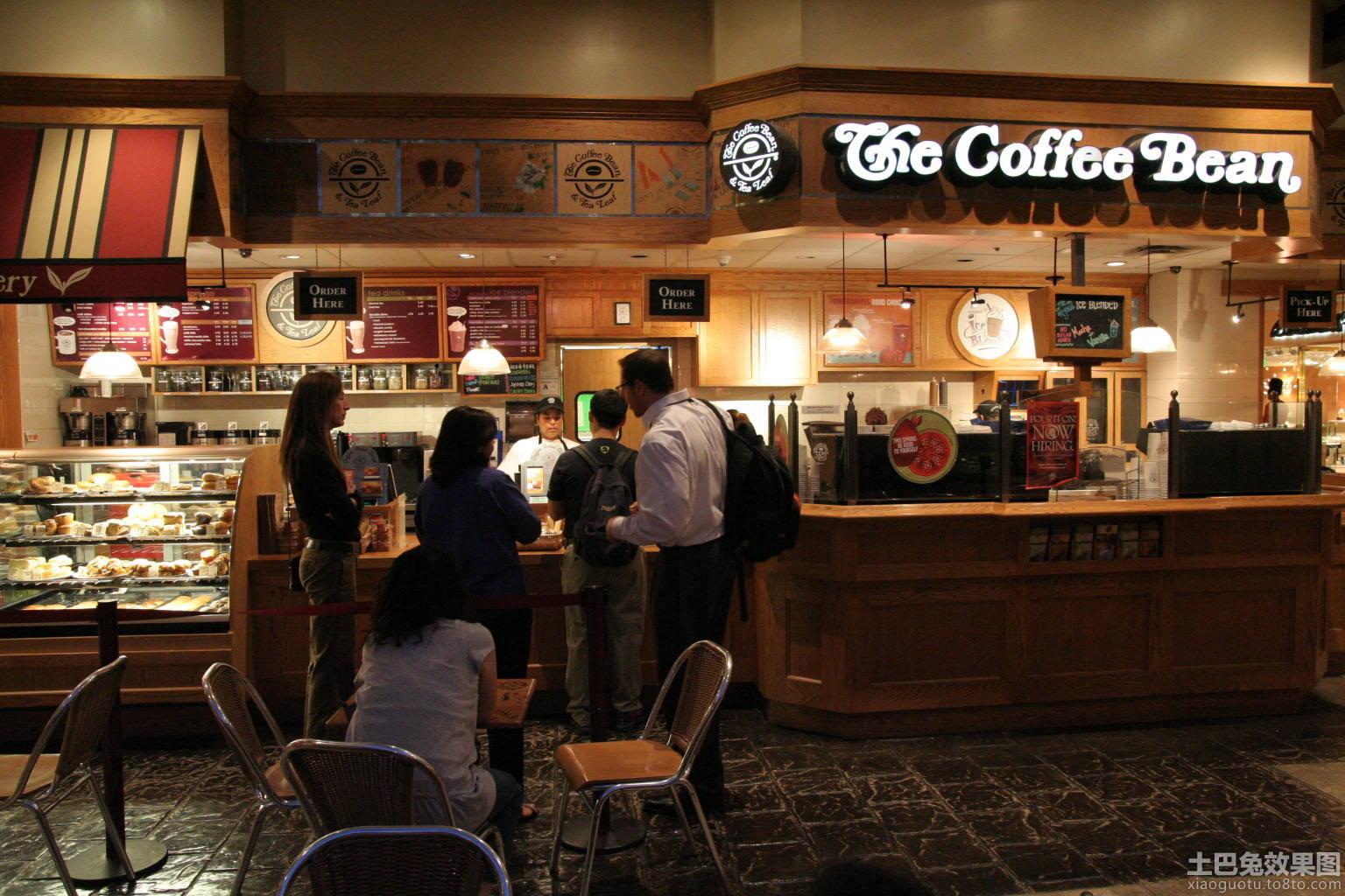 小型咖啡店装修效果图欣赏