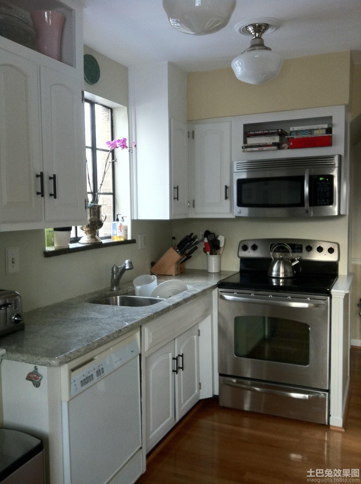 开放式小厨房设计 - 装修效果图 - 九正家居网