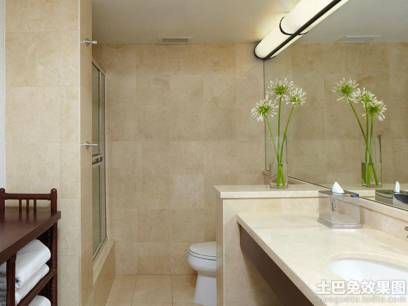 酒店公共卫生间洗手台设计