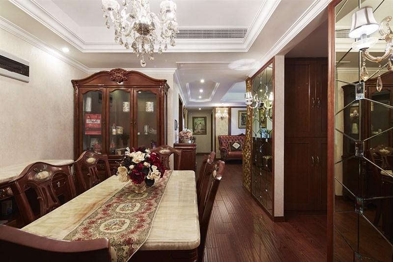 欧式古典风格餐厅装饰
