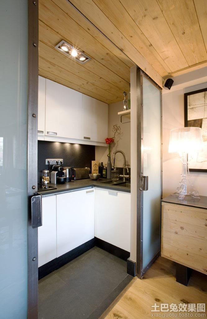 15平米超小户型厨房装修图片