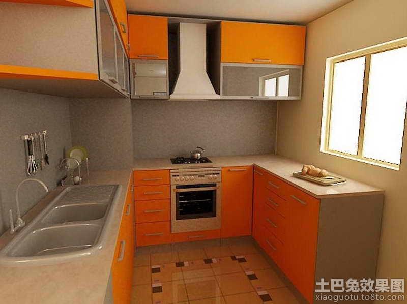 小阳台厨房装修效果图