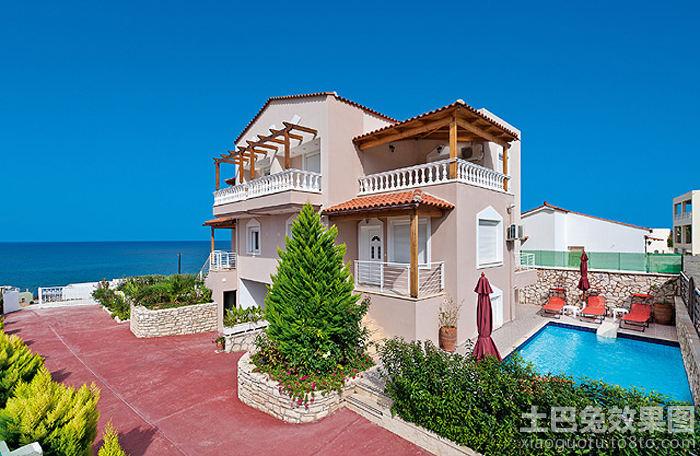 海边别墅图片欣赏