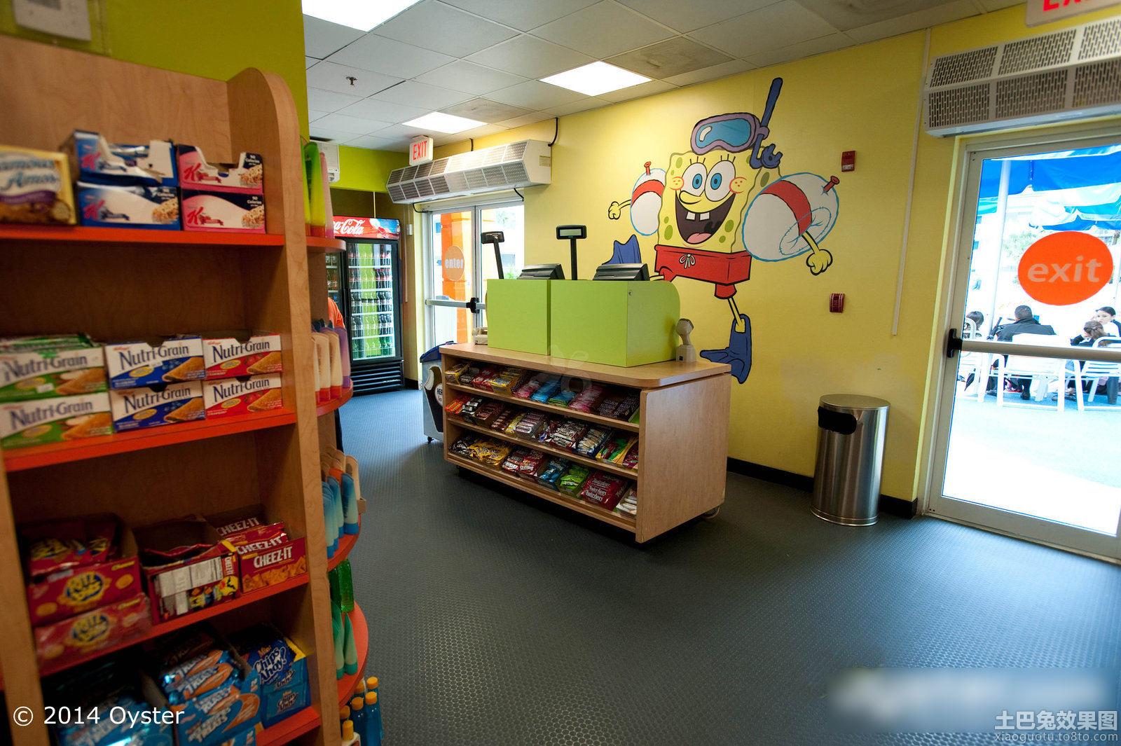 儿童零食店装修效果图