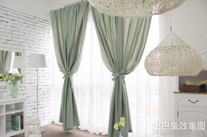现代简约客厅窗帘布艺