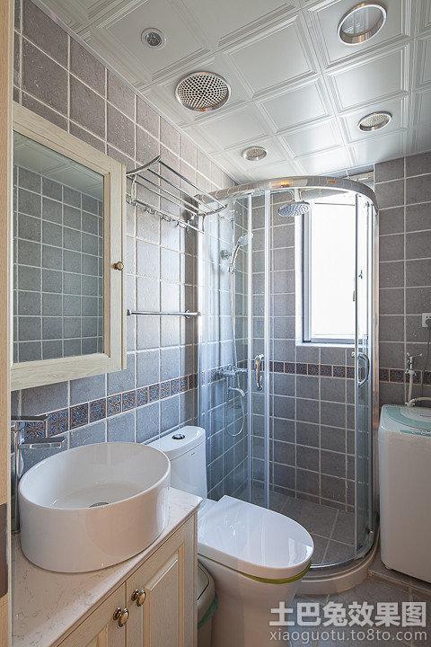 家居卫生间淋浴房装修效果图高清图片