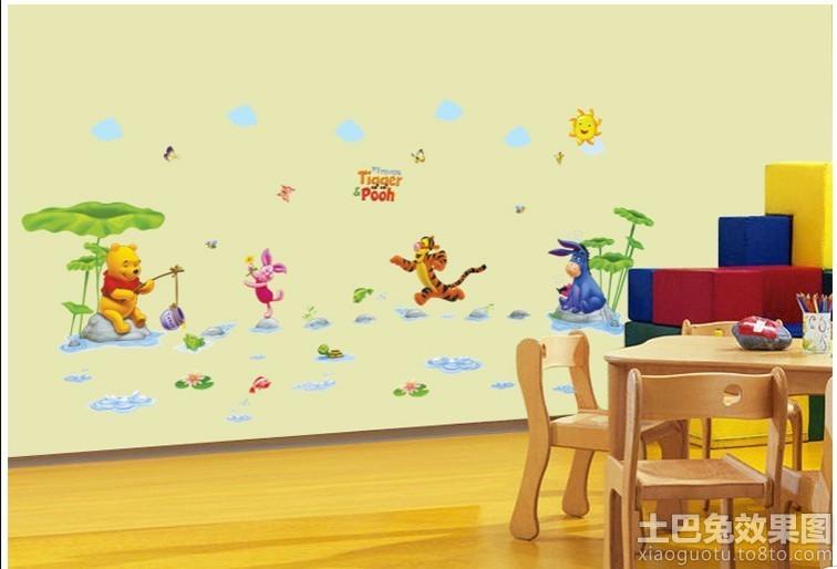 幼儿园室内墙面布置图片