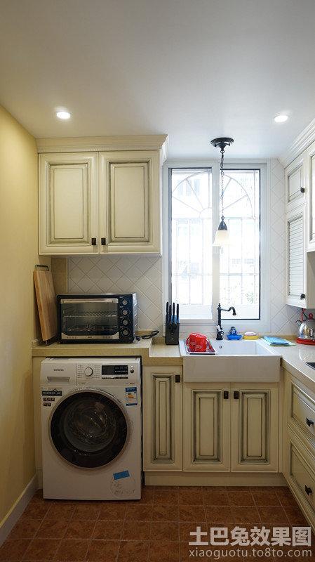 欧式小厨房装修图片欣赏