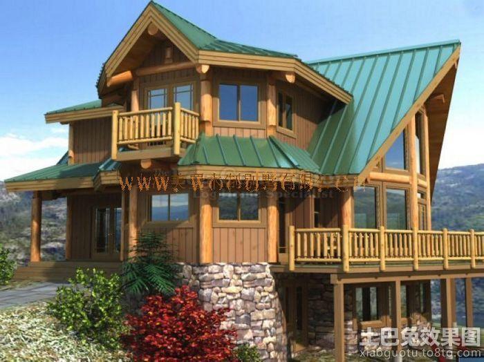 木结构别墅建筑