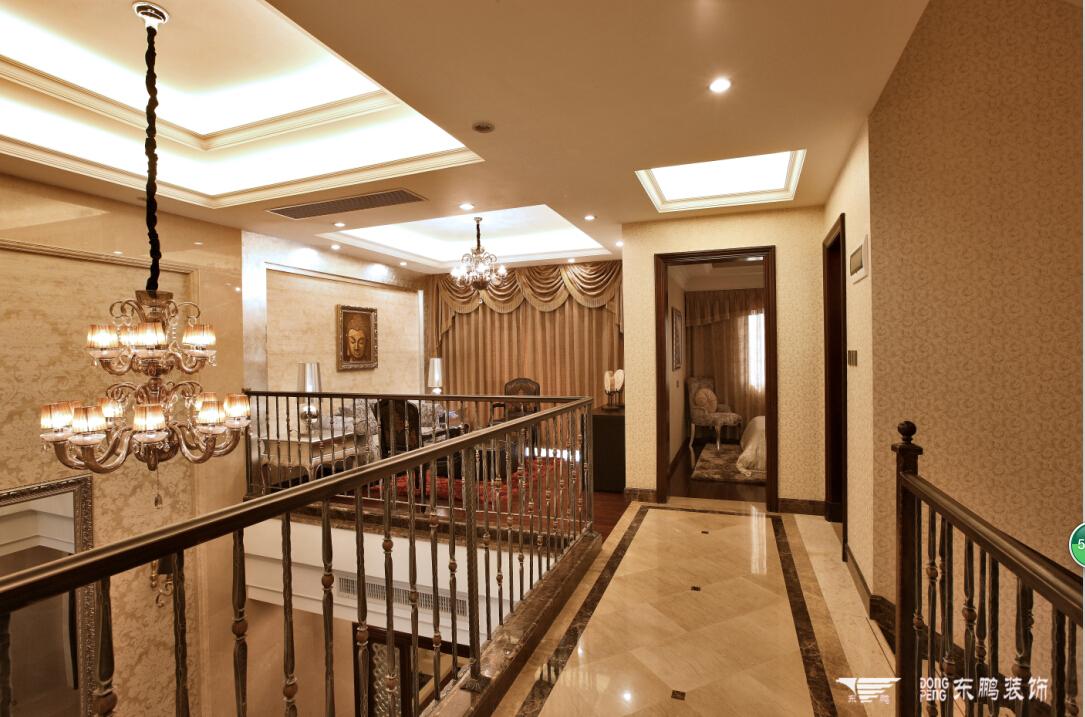 欧式别墅楼梯间装修效果图片