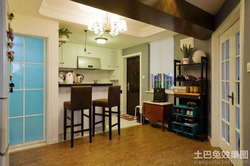 混搭风格小户型家庭室内装修图片