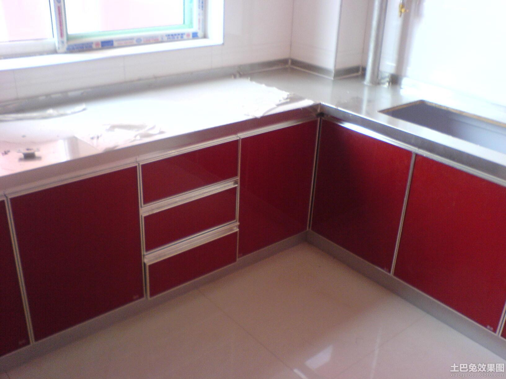 厨房不锈钢台面设计图片高清图片
