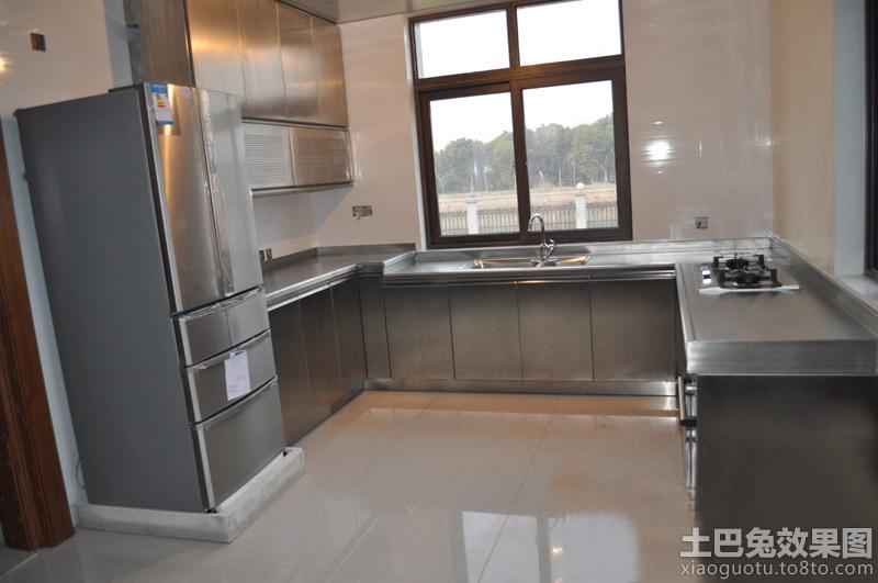 厨房不锈钢台面装修效果图高清图片