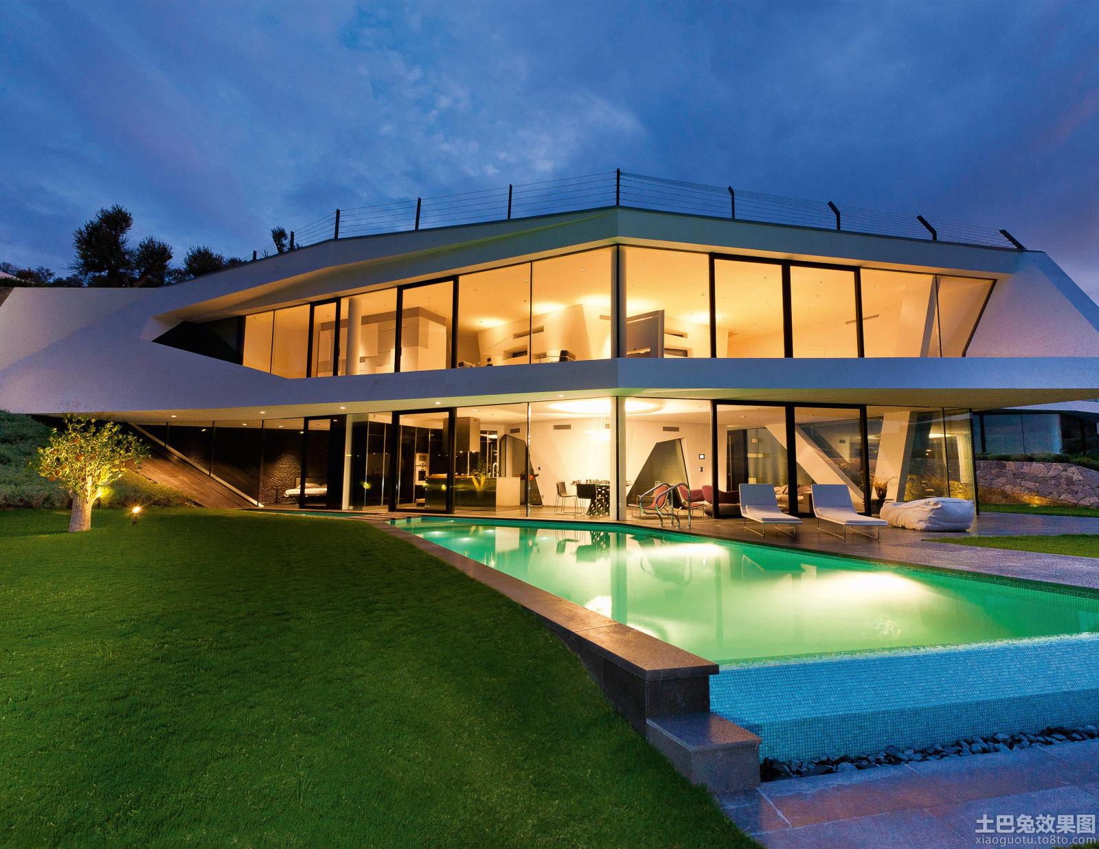 豪华别墅游泳池设计