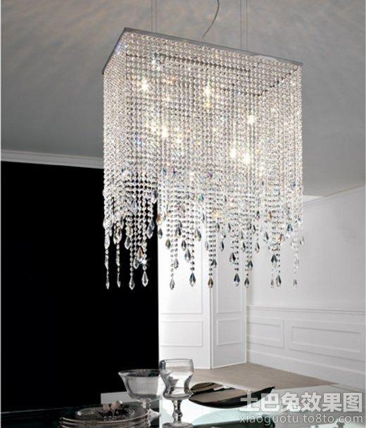 2014餐厅吊灯水晶灯图片大全 - 装修效果图 - 九正