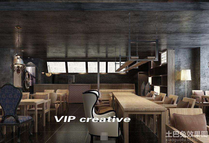 咖啡厅沙发效果图