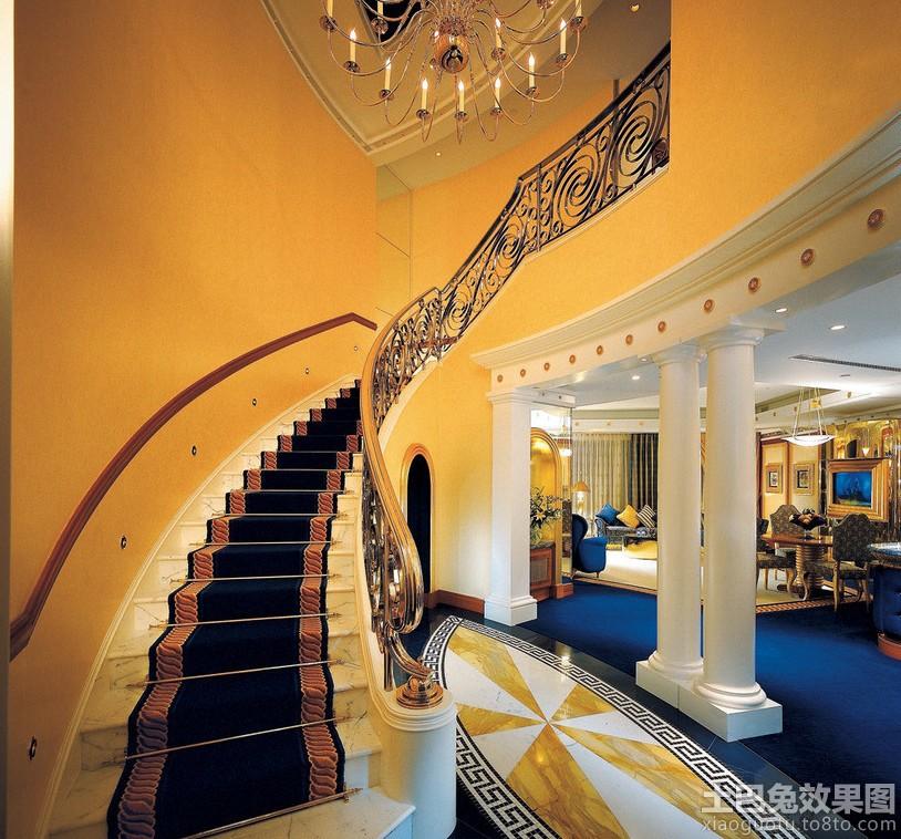 别墅楼梯装饰效果图片