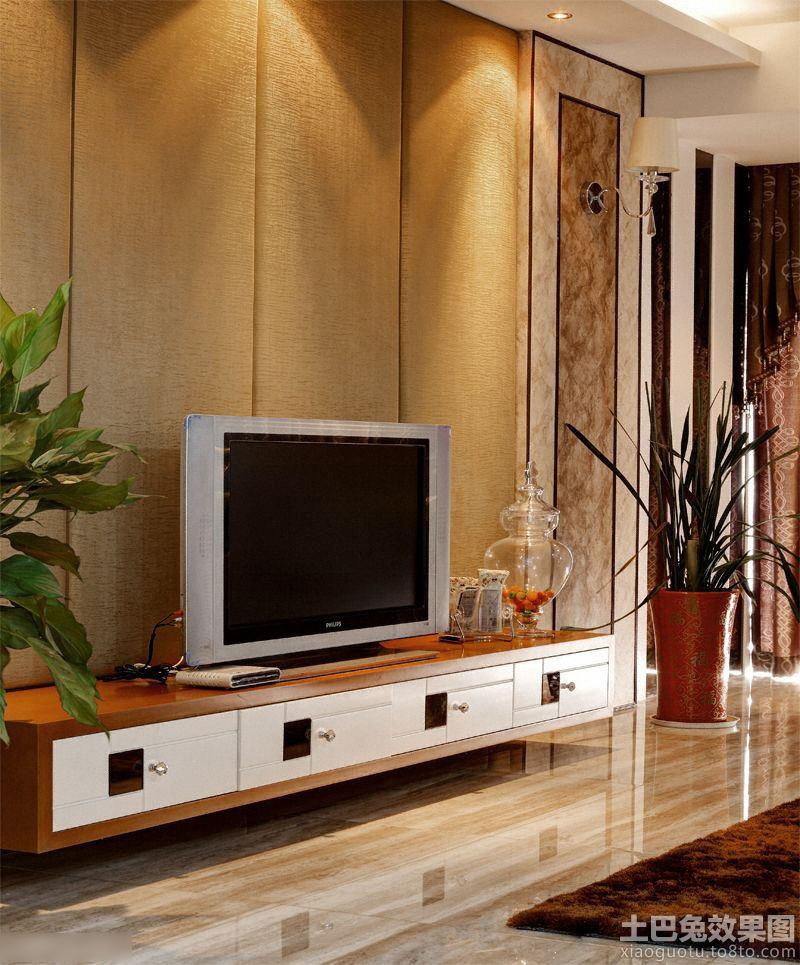 时尚家装别墅客厅电视背景墙图片