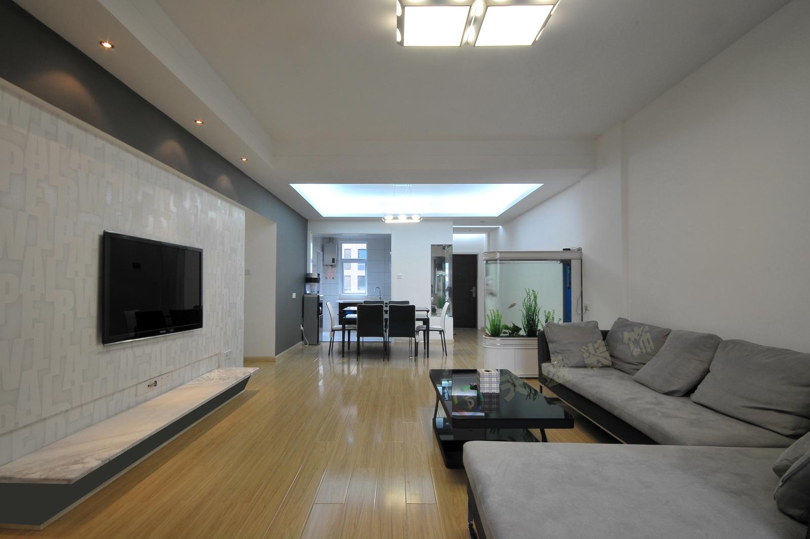 简约风格客厅电视背景墙装修效果图欣赏大全