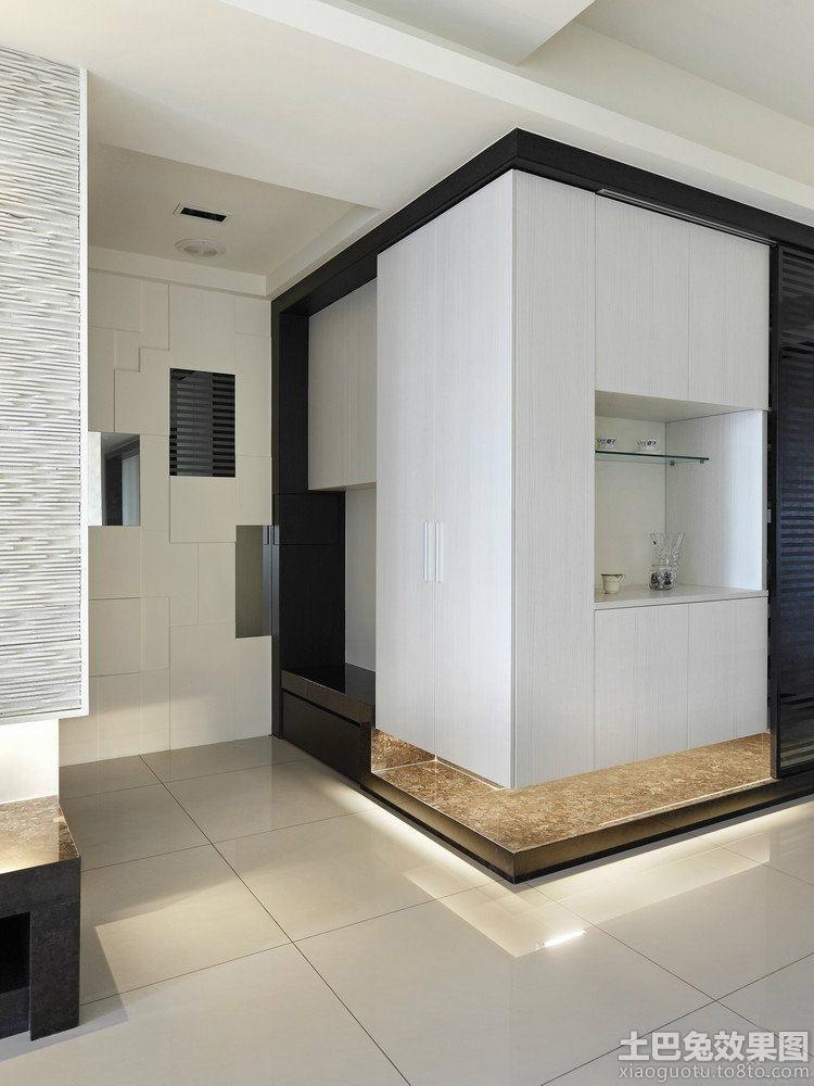 简约式家居风格玄关装修设计图片欣赏 - 装修效果图