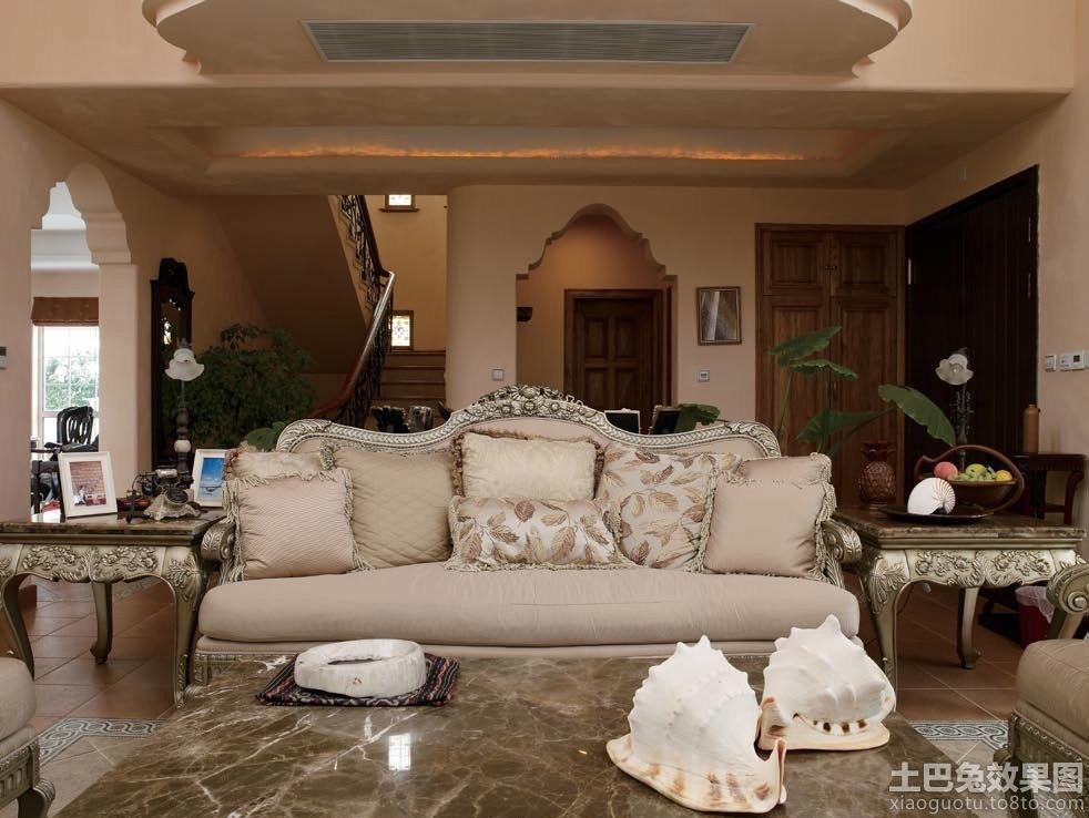欧式沙发背景墙设计图