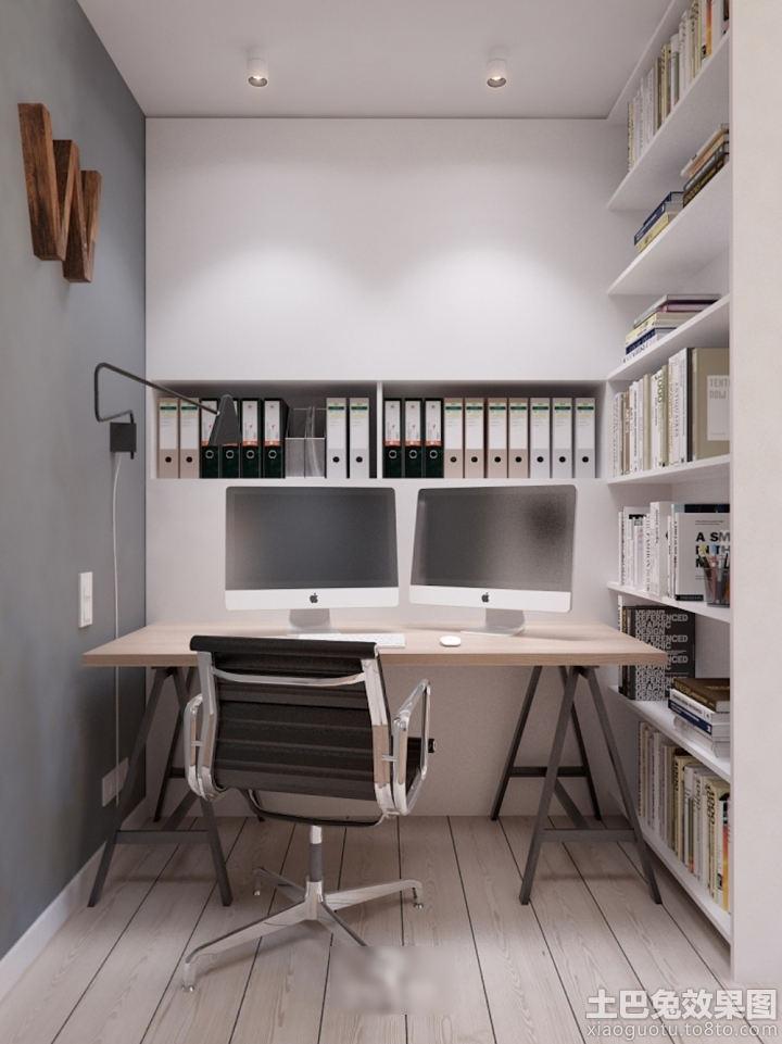 6平米小户型书房装修图片