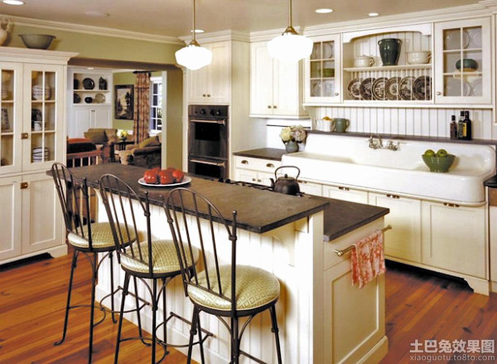 欧式风格家庭厨房装修效果图