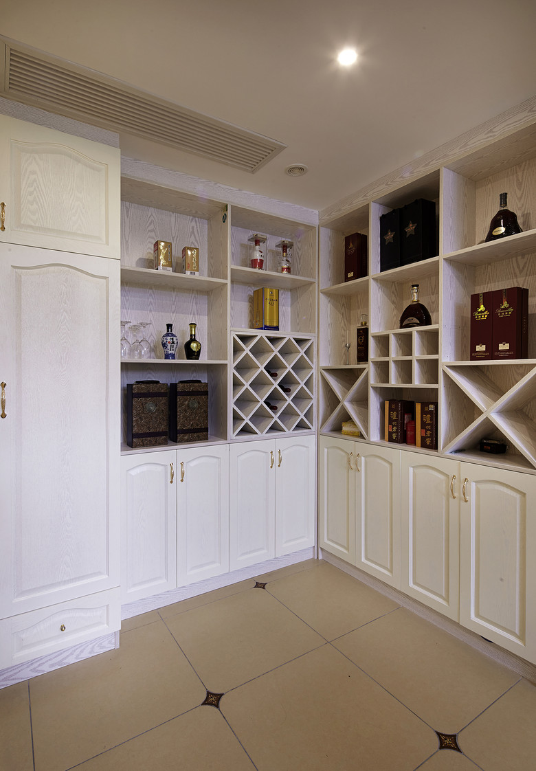 家庭休闲室酒柜装修效果图